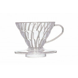 HARIO COFFEE DRIPPER V60 01 CLEAR PLASTIC